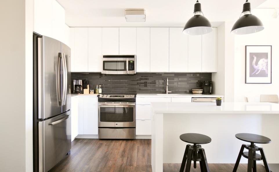 Пять идей для кухни в студии