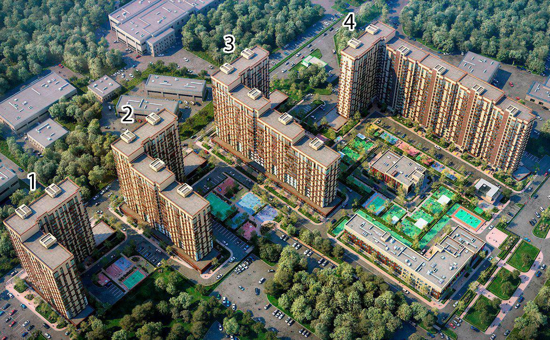 План жилого комплекса ЖК Поколение