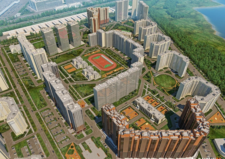 План жилого комплекса ЖК Медный всадник