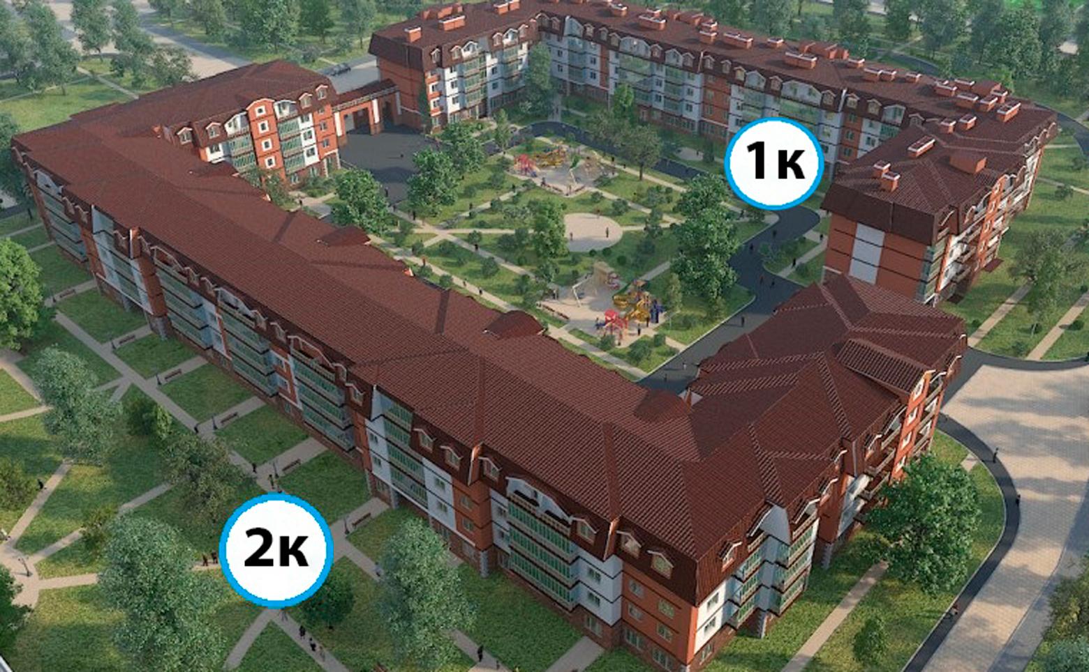 План жилого комплекса ЖК Царский двор