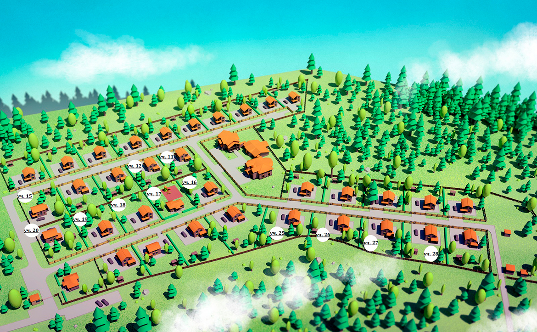 План жилого комплекса ЖК Прайд