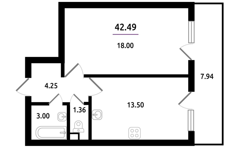 Продажа однокомнатных квартир в Санкт-Петербурге