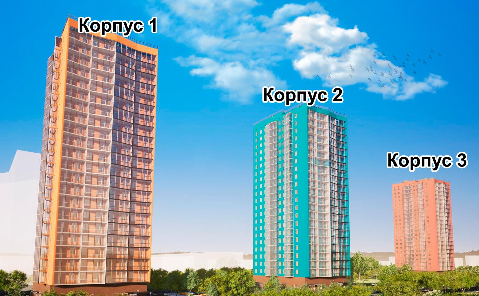 План жилого комплекса ЖК Муринские высоты