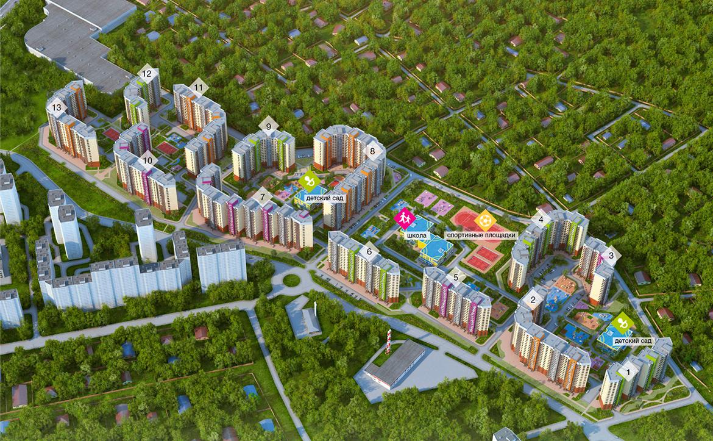 План жилого комплекса ЖК Сколковский