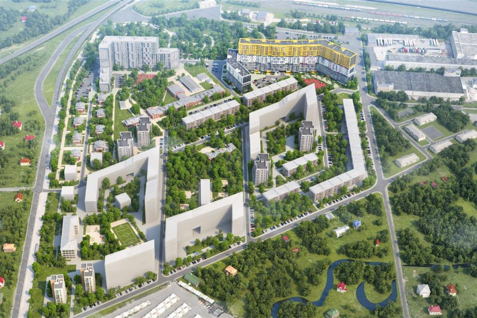 План жилого комплекса ЖК Стереос