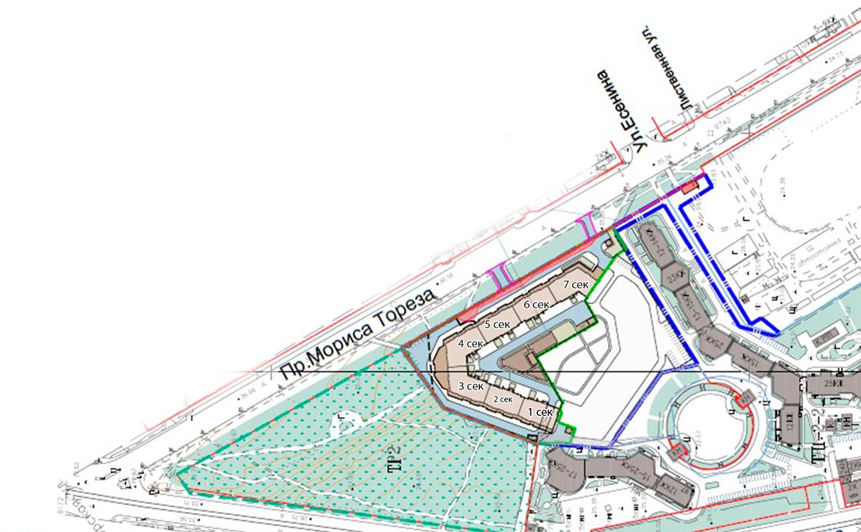 План жилого комплекса ЖК Leningrad