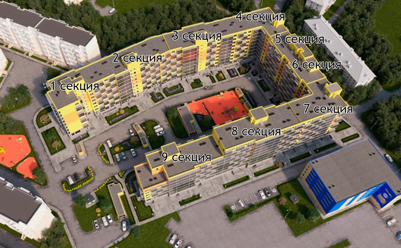 План жилого комплекса ЖК Добрыня