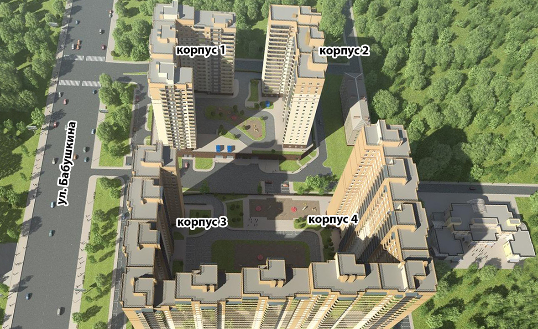 План жилого комплекса ЖК Невская звезда