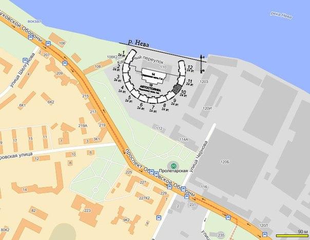 План жилого комплекса ЖК Молодежный