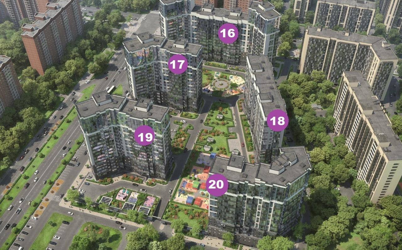 План жилого комплекса ЖК YOUПитер