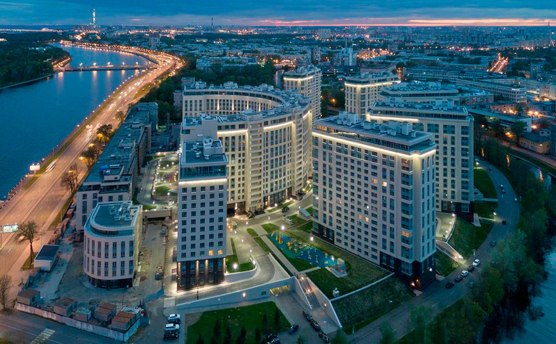 ЖК «Riverside», Приморский р-н в СПб