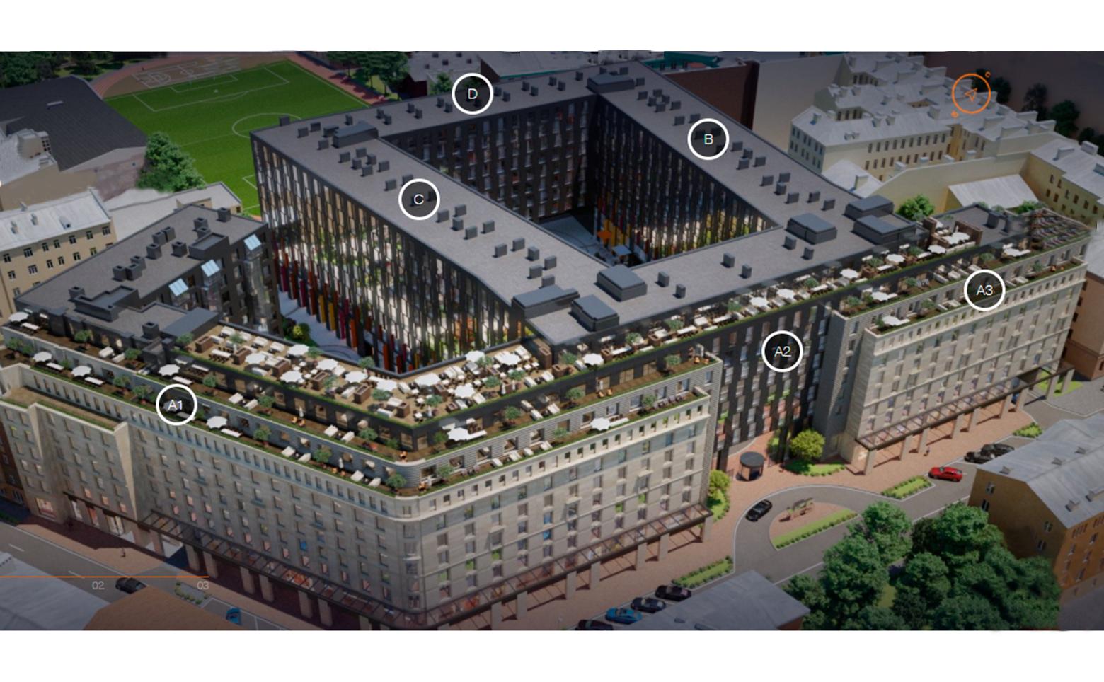 План жилого комплекса ЖК YE'S на Социалистической