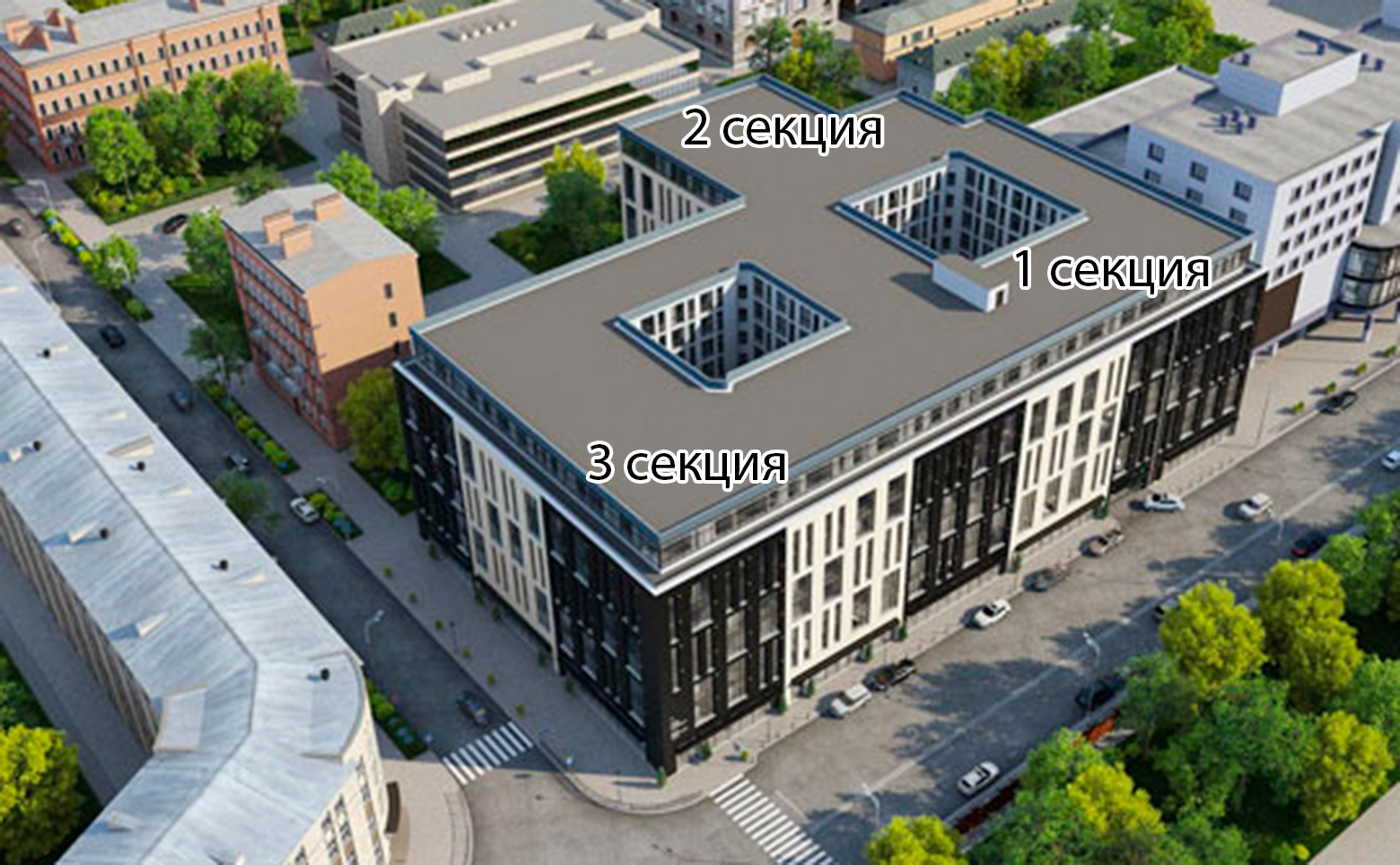 План жилого комплекса ЖК Prime Residence
