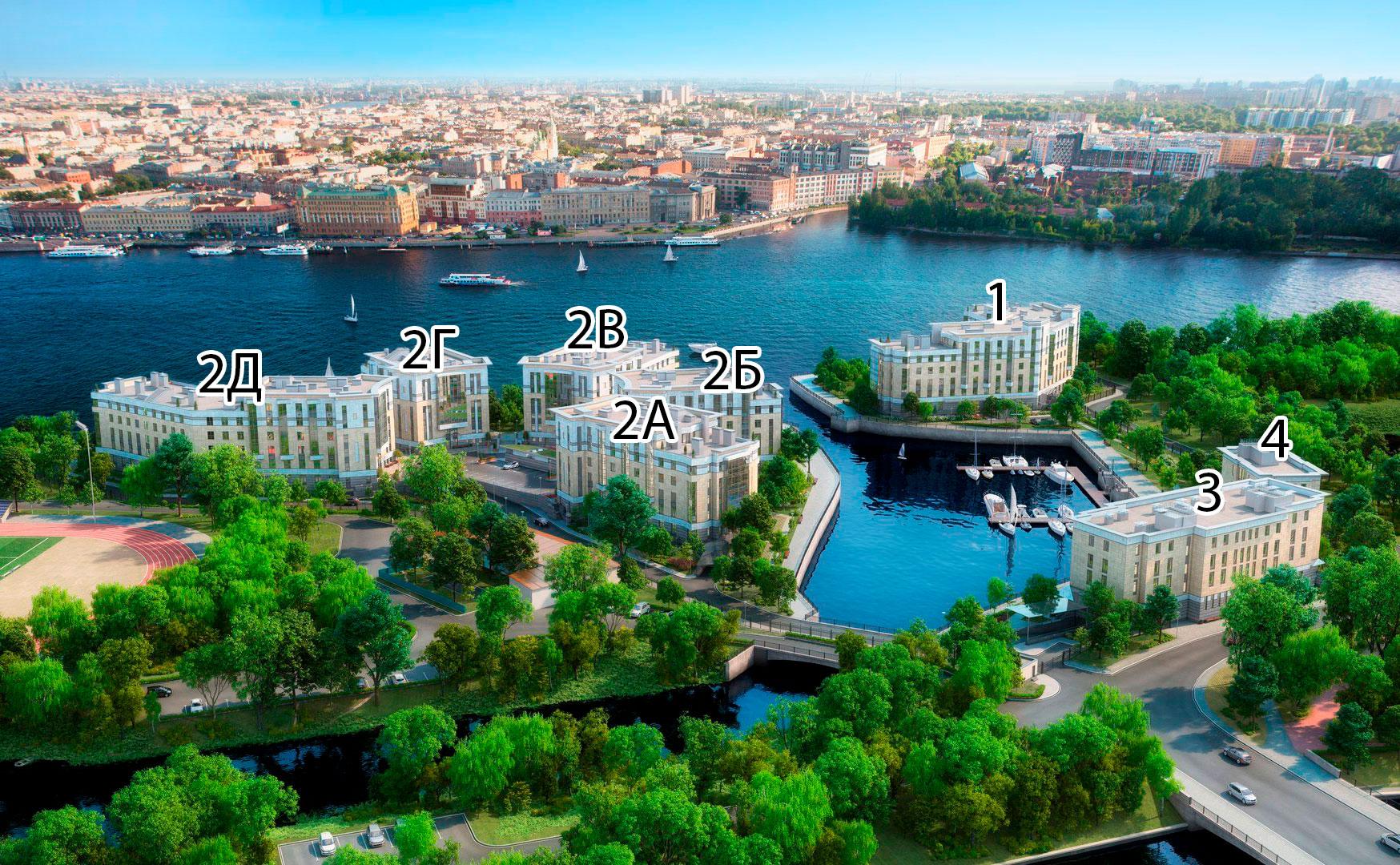 План жилого комплекса ЖК Royal Park