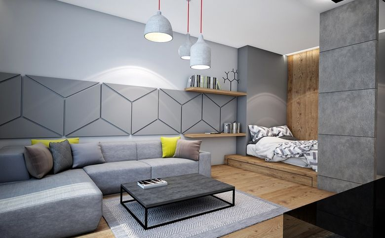 Однокомнатная квартира, или евродвушка - выбор покупателя.