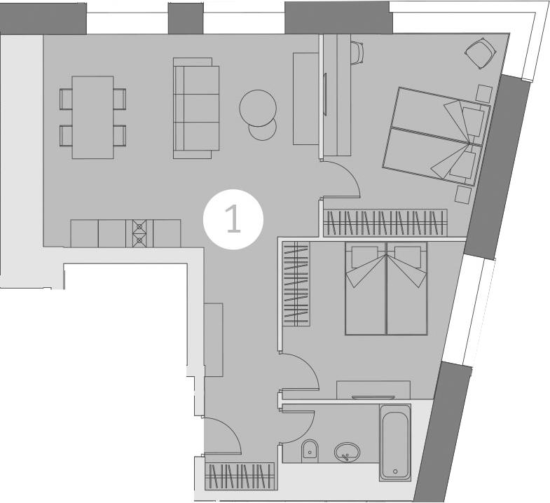 3-к.кв (евро), 68.59 м²