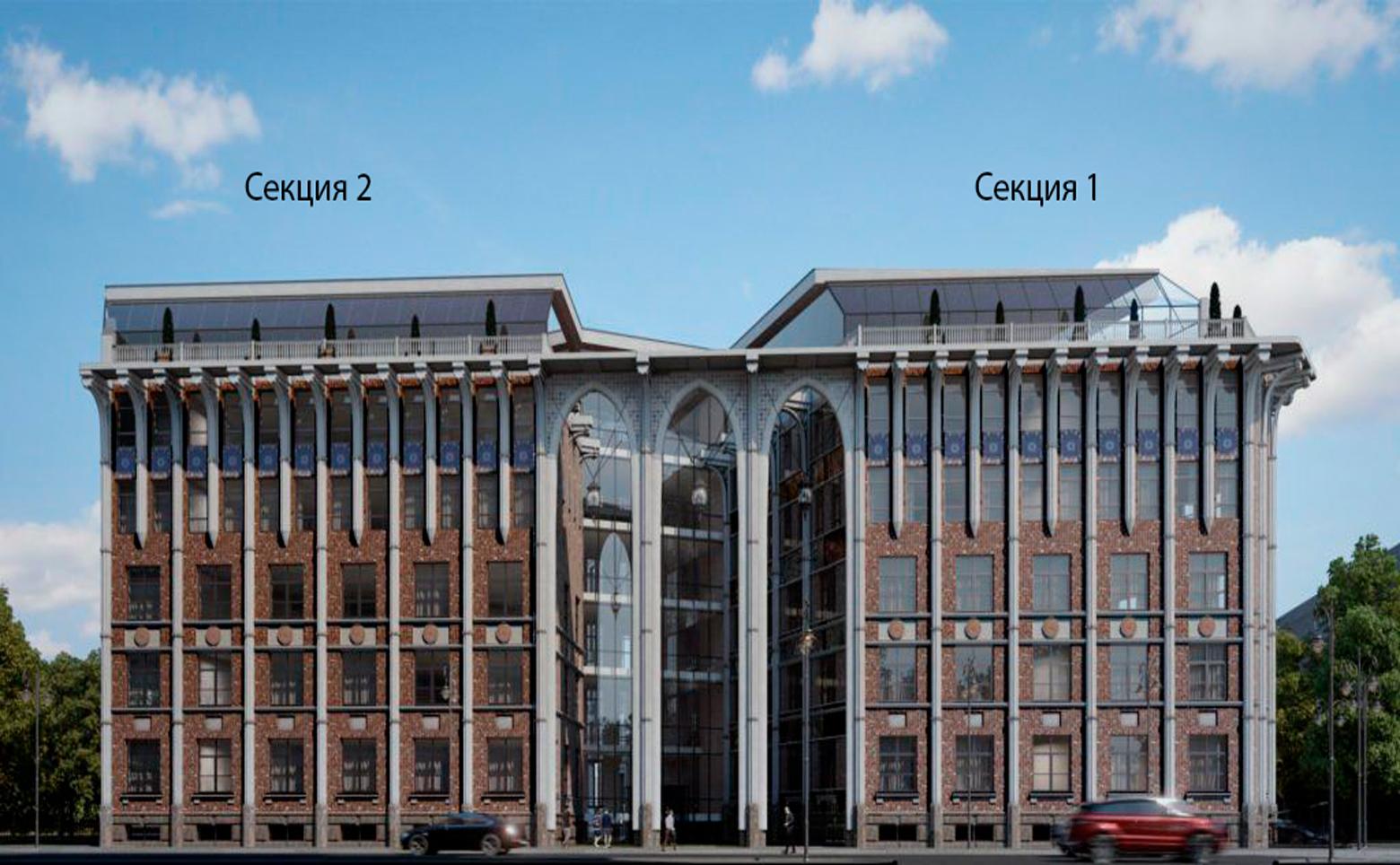 План жилого комплекса ЖК Esper Club