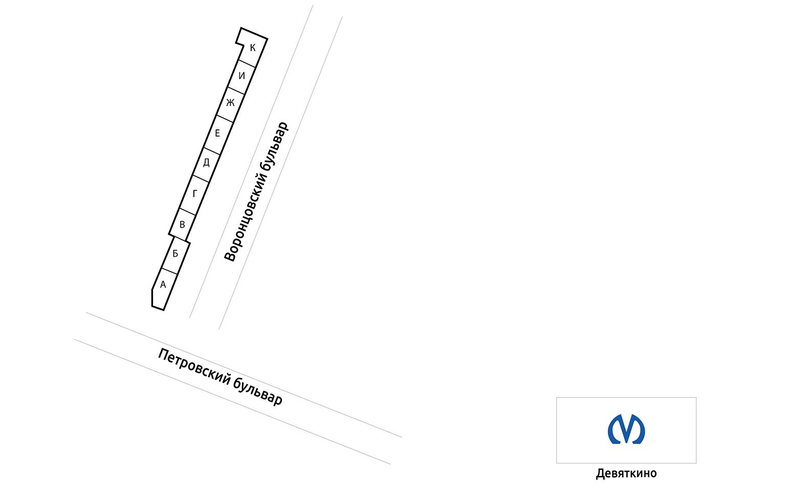 План жилого комплекса ЖК Алфавит