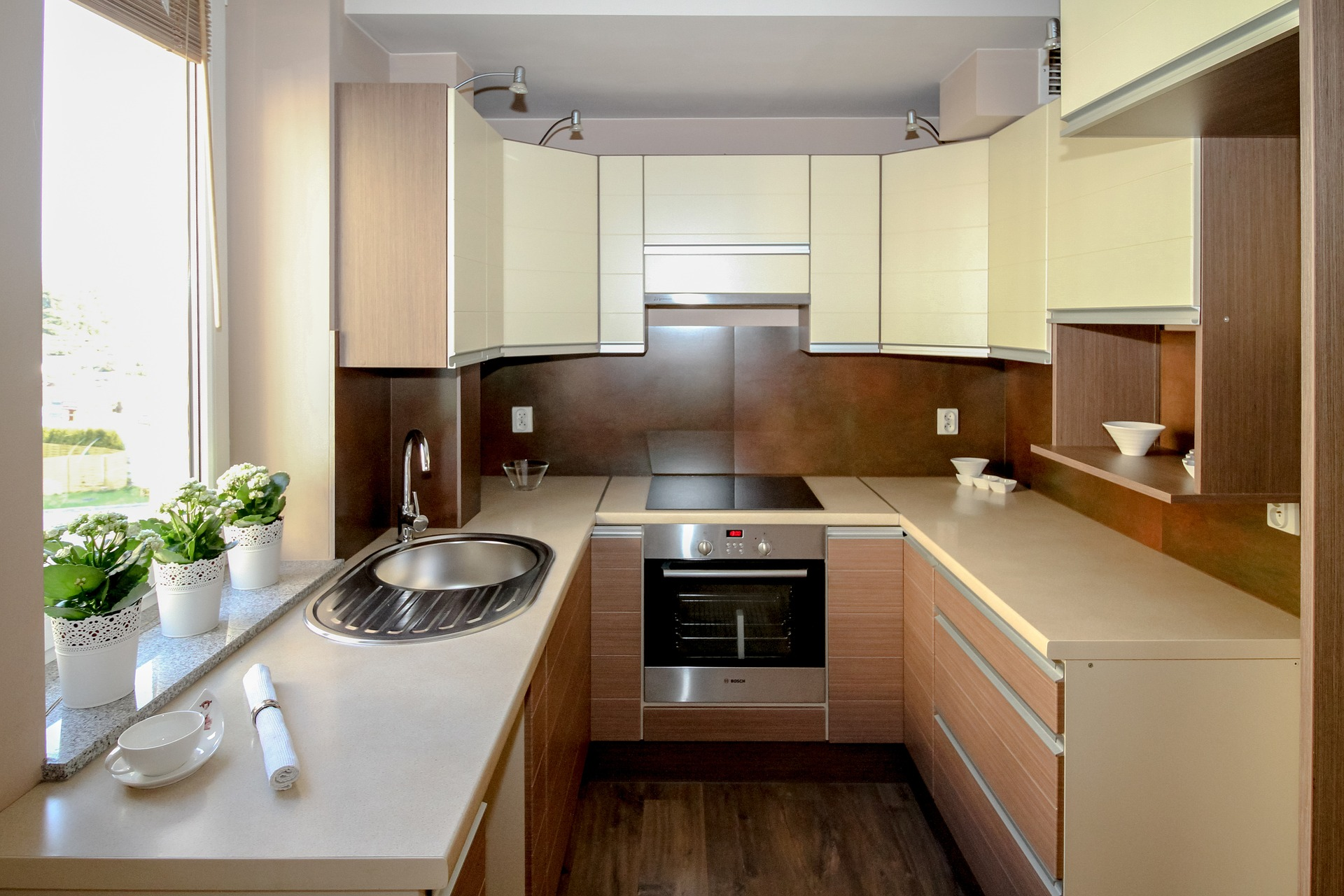 U-планировка кухни
