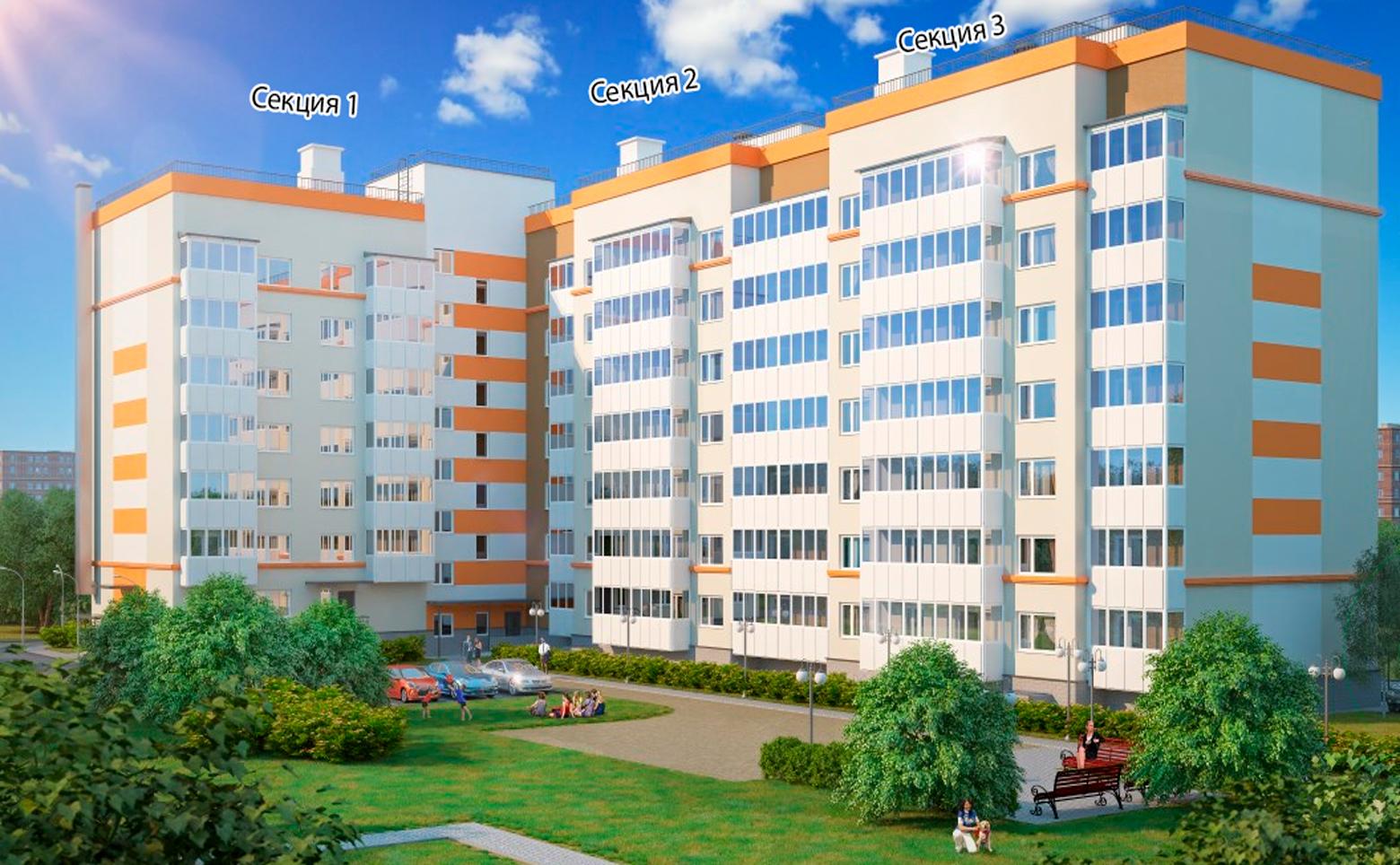 План жилого комплекса ЖК Полководец