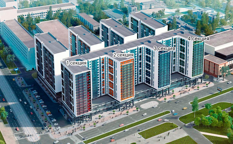 План жилого комплекса ЖК Valo