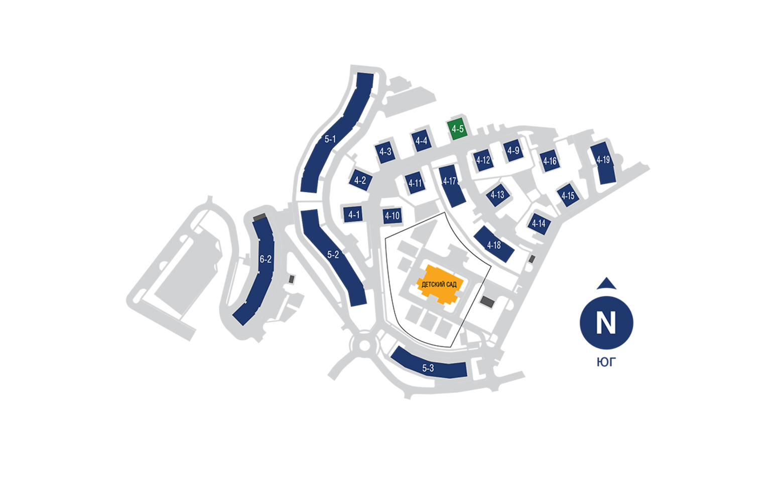 План жилого комплекса ЖК EcoCity