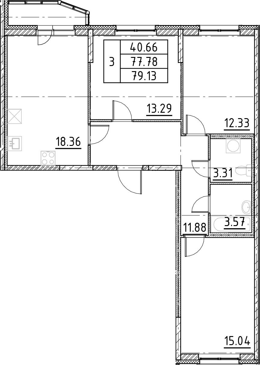 4-к.кв (евро), 80.48 м²