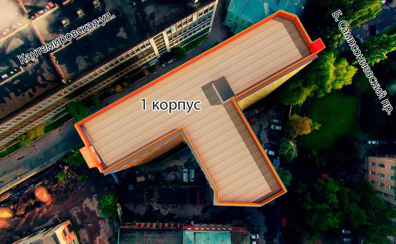 План жилого комплекса ЖК Vertical на Сампсониевском