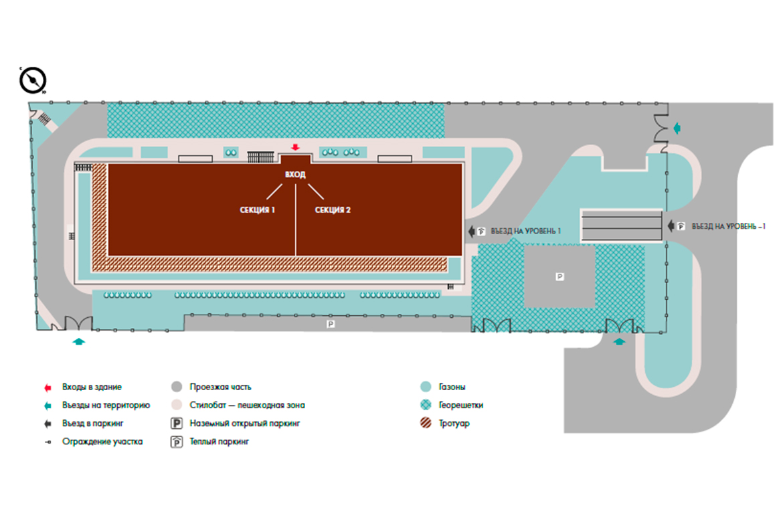 План жилого комплекса ЖК NEO