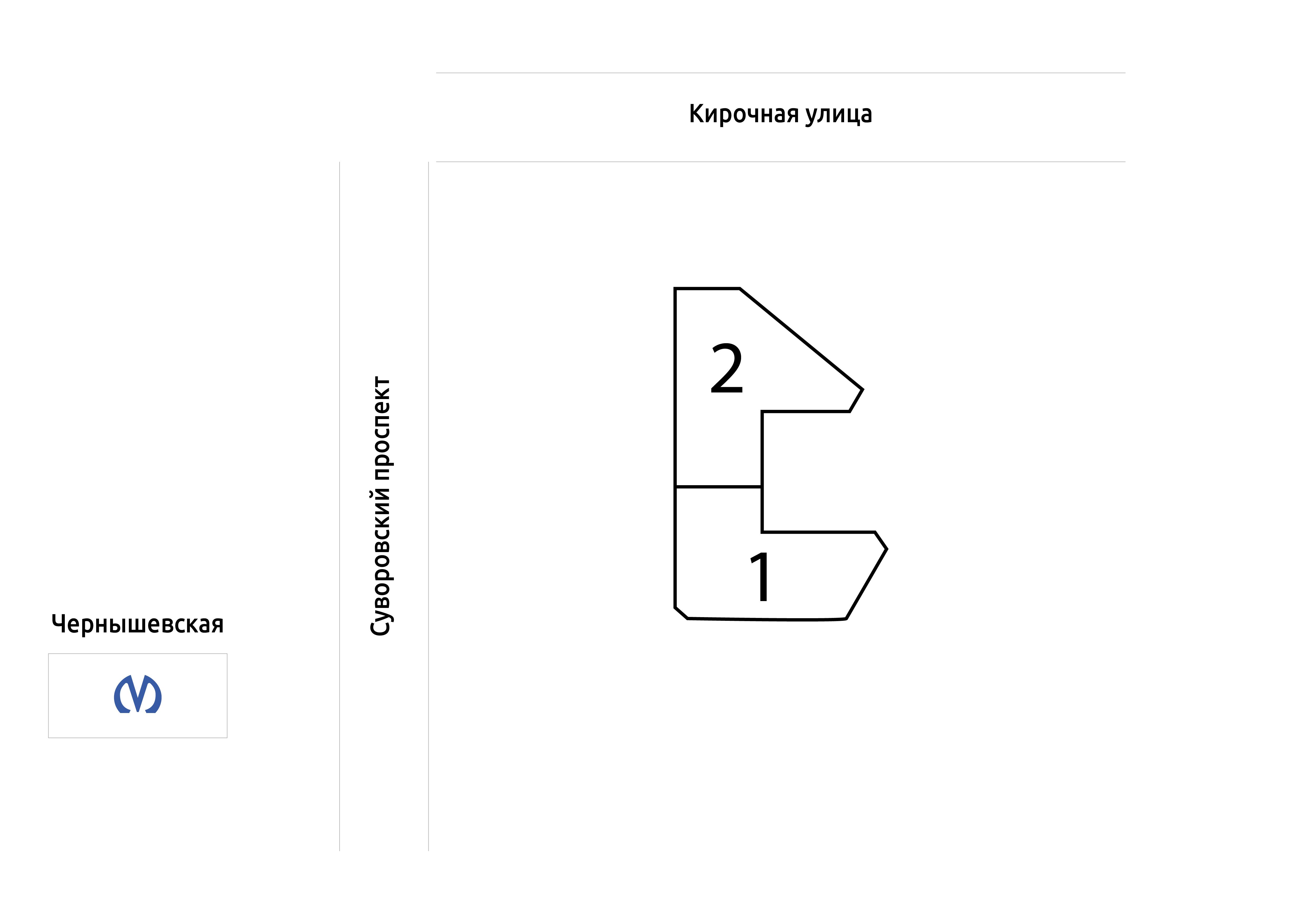 План жилого комплекса ЖК Дом у Ратуши
