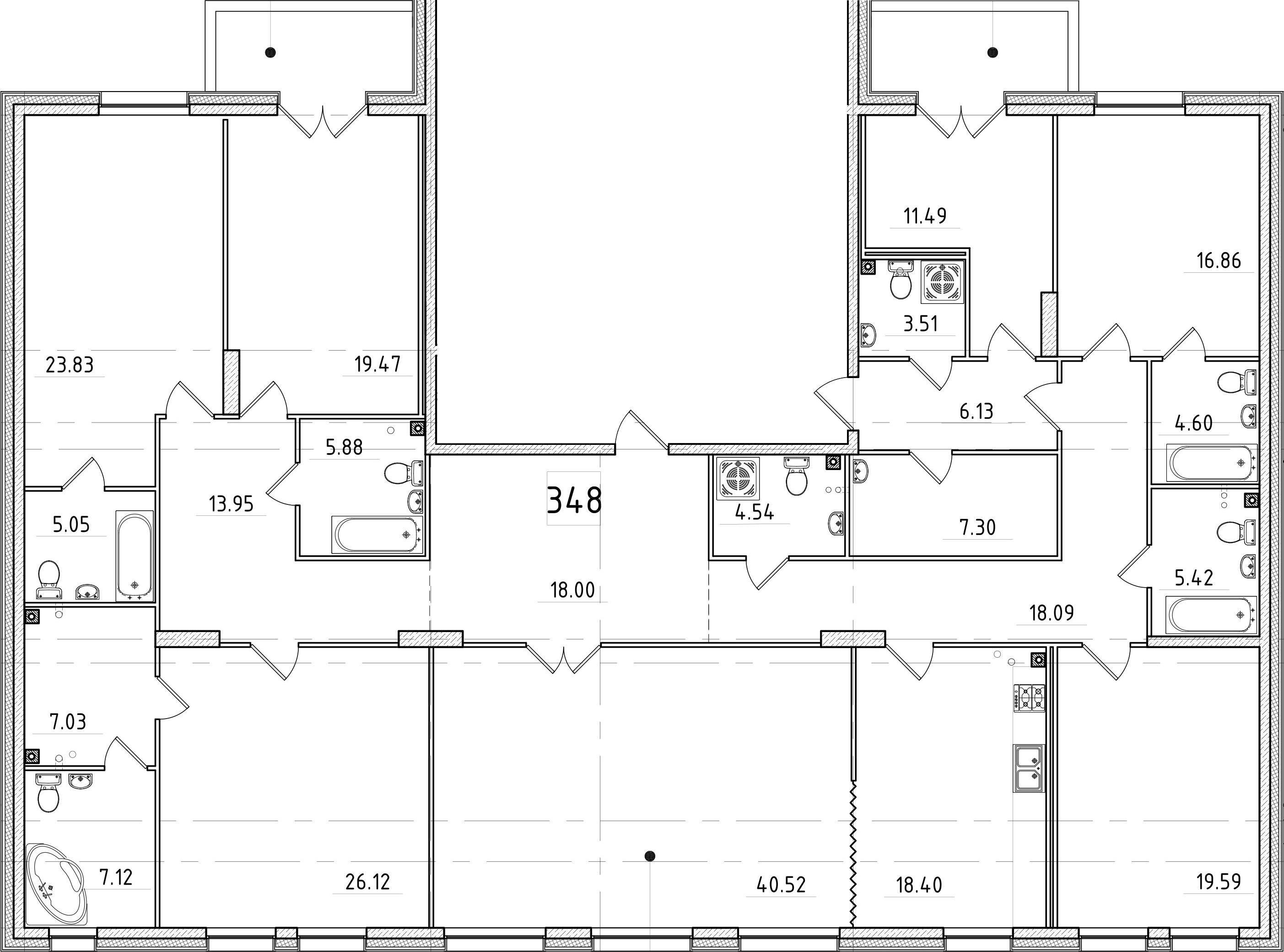 7-к.кв, 289.54 м²