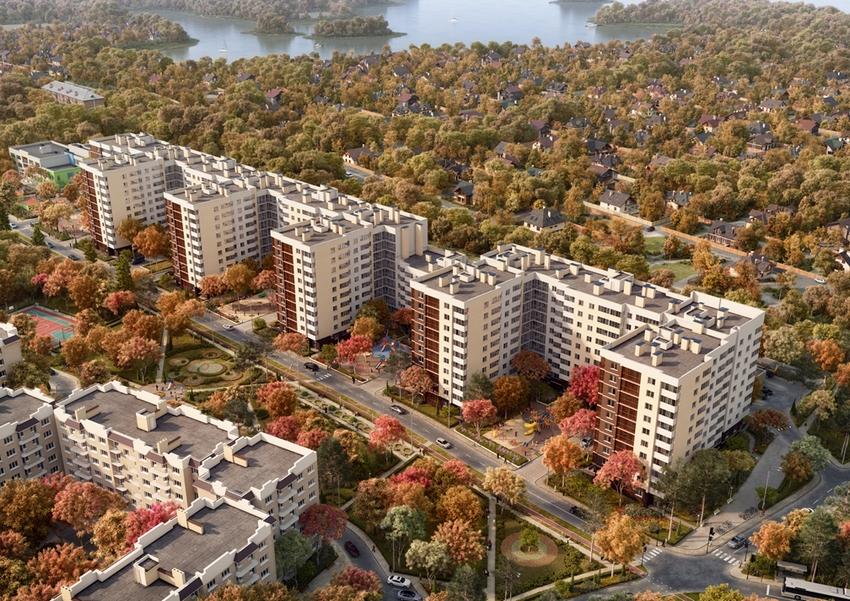 План жилого комплекса ЖК Дом у Разлива