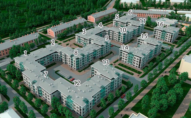 План жилого комплекса ЖК Золотой век