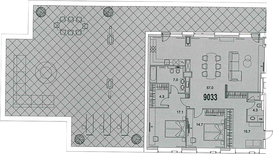 3-к.кв (евро), 318.3 м²