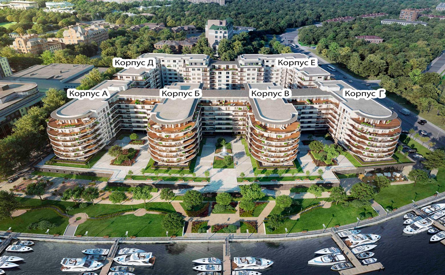План жилого комплекса ЖК Привилегия