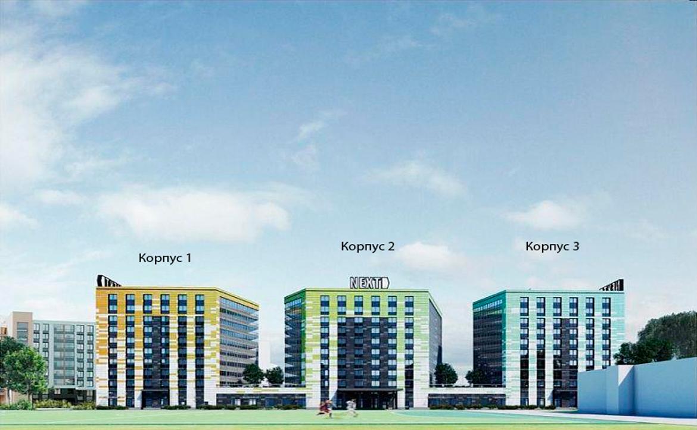 План жилого комплекса ЖК Next