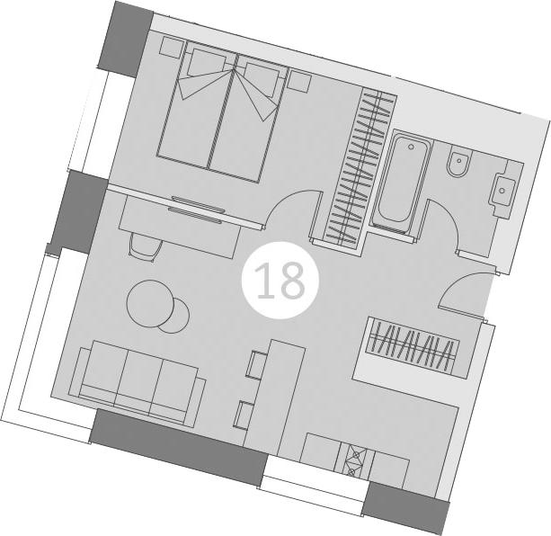 2-к.кв (евро), 39.91 м²