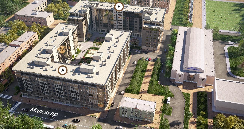 План жилого комплекса ЖК The Residence