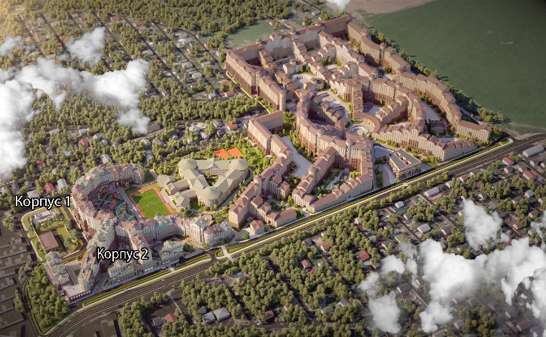 План жилого комплекса ЖК Римский