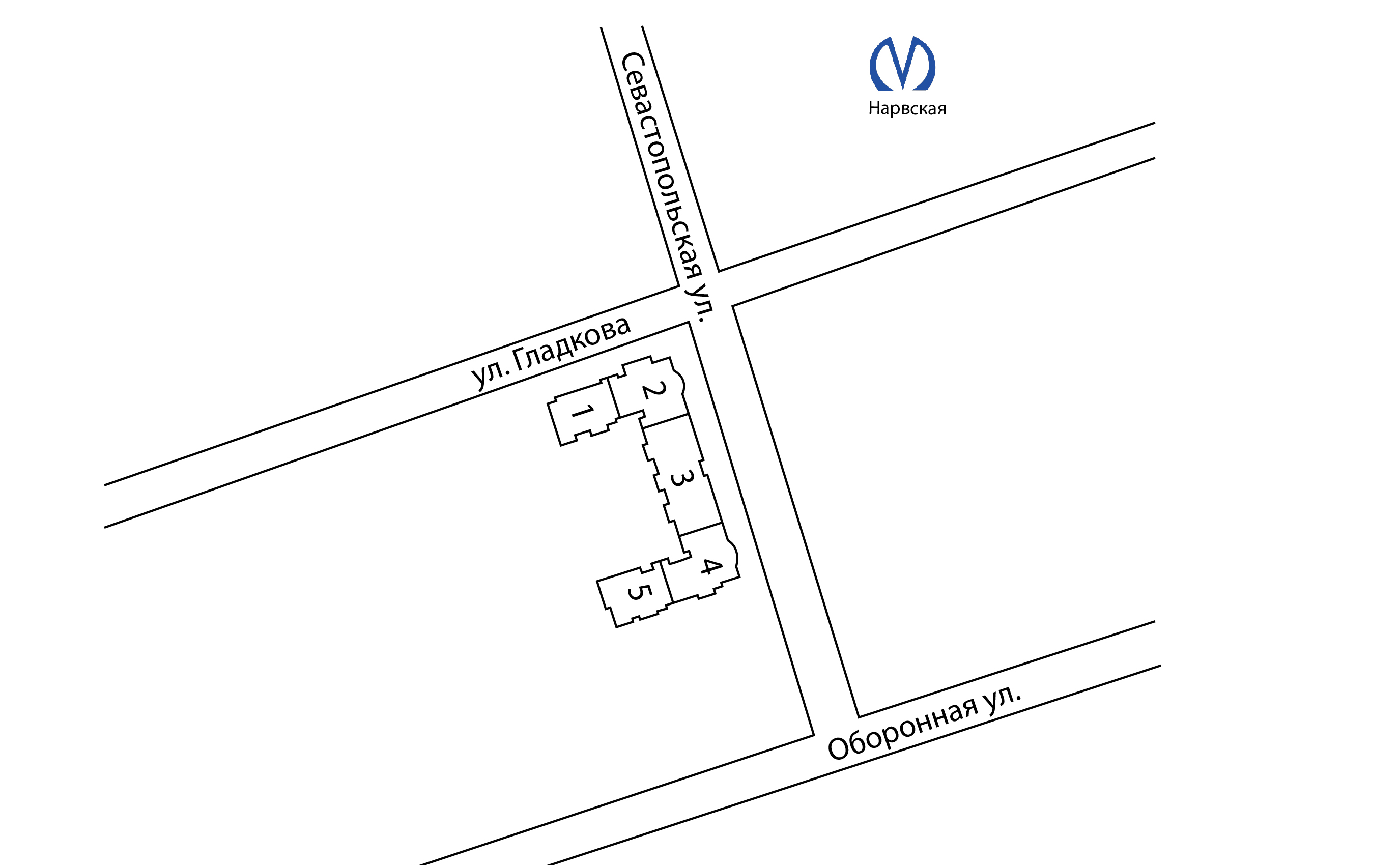План жилого комплекса ЖК Золотое время